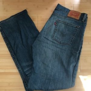 Gently Used Men's Levi 550 Jeans - Size 42-32